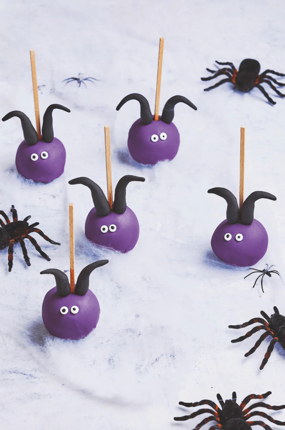 Cake pops maléfiques - halloween